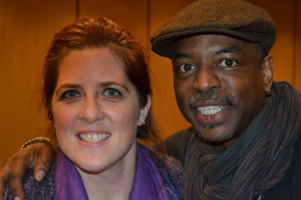 Yup. That's me with the awesomeness that is LeVar Burton. Drink it all in.